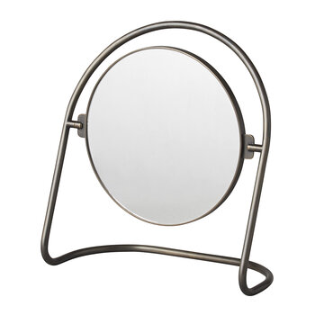 Nimbus Table Mirror - Bronzed Brass