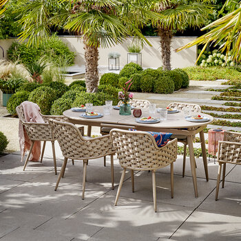 Outdoor Woven Dining Chair - Sand