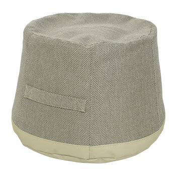 Outdoor Pouf - Grey