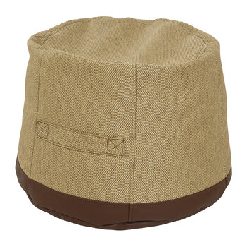 Outdoor Pouf - Brown