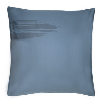 Artisan Brush Pair Of Pillowcases - Blue On Blue