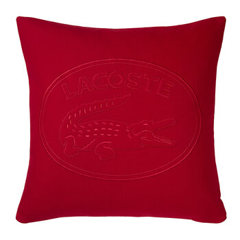 Lacoste Cushion Cover - 45x45cm - Red