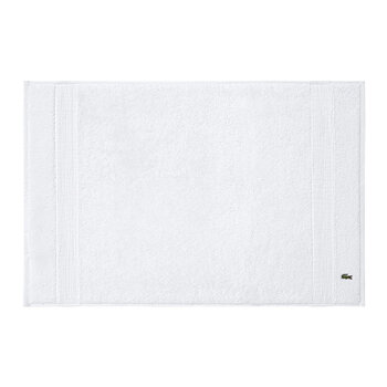 Le Croco Bath Mat - White