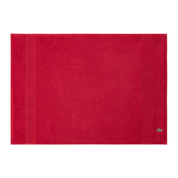 Le Croco Bath Mat - Red