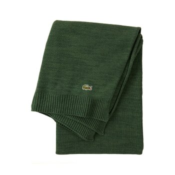 Living Knitted Throw - 130x170cm - Green