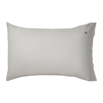 Pique Pillowcase - Silver