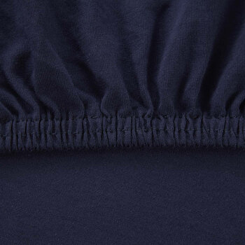 Soft Fitted Sheet - Marine