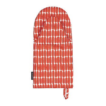 Alku Ovenmitten - White/Red