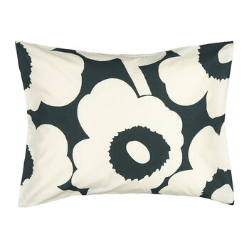 Unikko Pillowcase - Dark Green