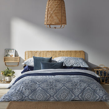 Marrakesh Duvet Set - Blue