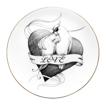 Perfect Plates - Loved Up Lovebirds