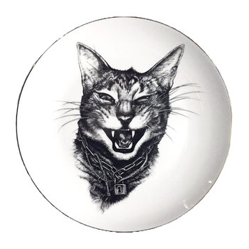 Perfect Plates - Gangster Cat