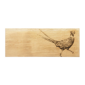 Oak Pheasant Serving Board - Large