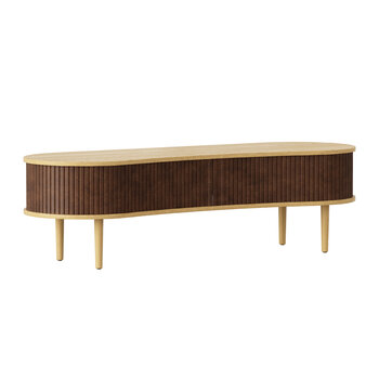 Audacious TV Bench - Hazelnut