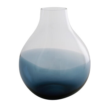 No 24 Flower Vase - Indigo Blue