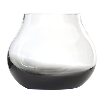 No 23 Flower Vase - Smoked Grey