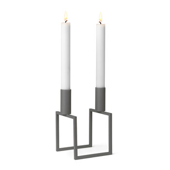 Line Candle Holder - Gray