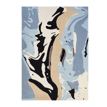 Marylebone Rug - Black/Blue