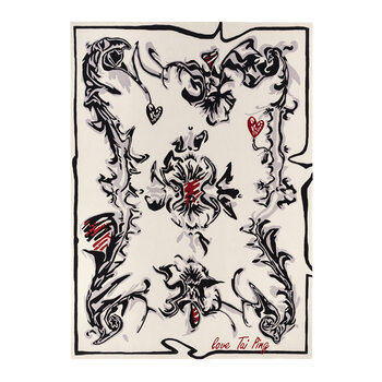 Love Tai Ping Rug - Black/White