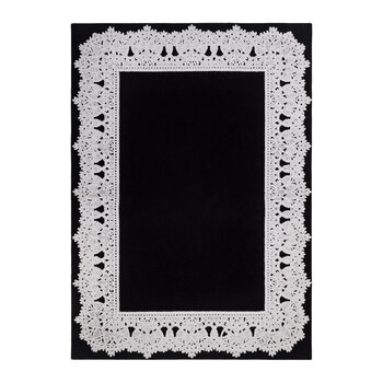 Majesty Rug - Black/Gray
