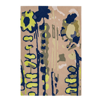 Jungle Walk Rug - Taupe/Green - 120x180cm