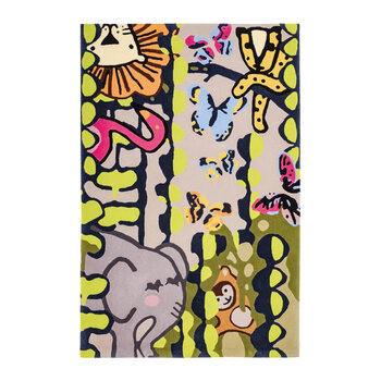 Jungle Animals - Mutli - 120x180cm