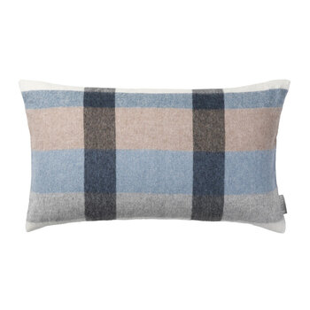 Intersection Cushion - 30x50cm - Ocean Blue/White/Grey