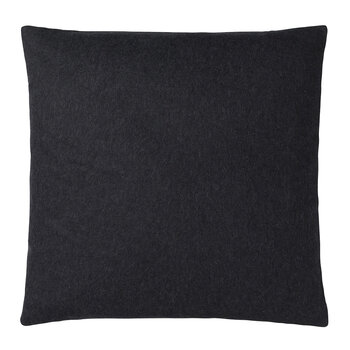 Classic Sheep Wool Pillow - 50x50cm - Dark Gray