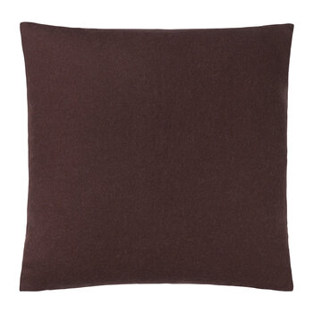 Classic Sheep Wool Pillow - 50x50cm - Plum