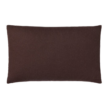 Classic Sheep Wool Pillow - 40x60cm - Plum