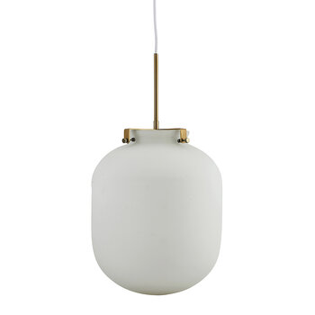 Ball Ceiling Light - White