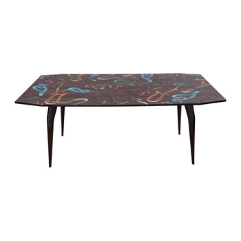 Tolietpaper Table - Wooden - Snakes