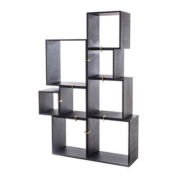 Assemblage 888 Lacquered Wooden Modules - Anthracite