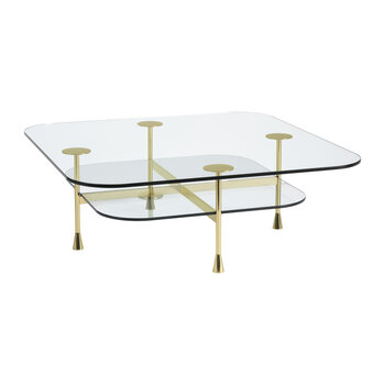 Da Vinci Coffee Table - Glass - Squared