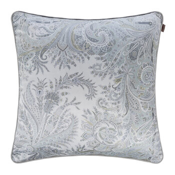 Exeter Atlante Cushion With Cord - 60x60cm - Grey
