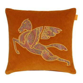 Exeter Somerset Embroidered Pillow - 45x45cm - Yellow