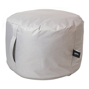 Inflatable Pouf - Light Grey - 50x30cm