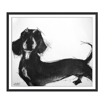 Valerie Davide Dogs - Sausage Dog - 48x58cm