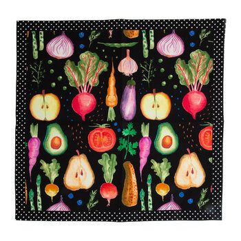 Serviette de Table Radish and Root