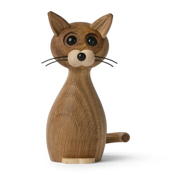 Figurine Chanceux le Chat - Chêne Rouge