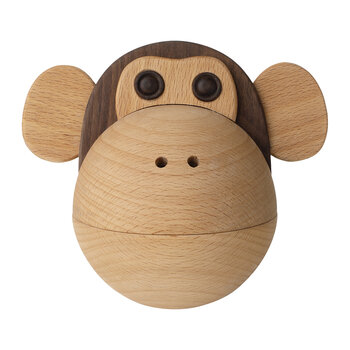 Monkey Snack Bowl  - Beechwood