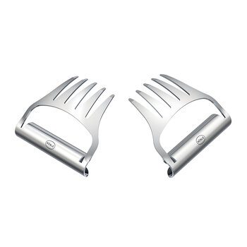 Pulled Pork Forks - Set Of 2 - Stainless Steel