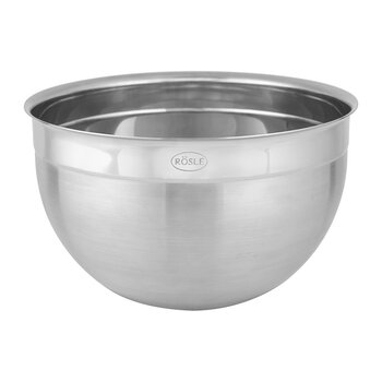 Deep Serving Bowl - Stainless Steel