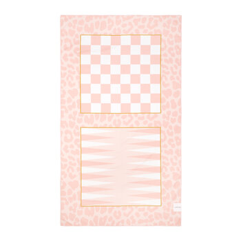 Summer Games Towel - Call Of The Wild - Peachy Pink