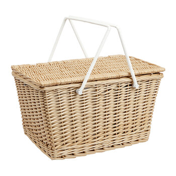 Eco Picnic Cooler Basket - Natural - Large