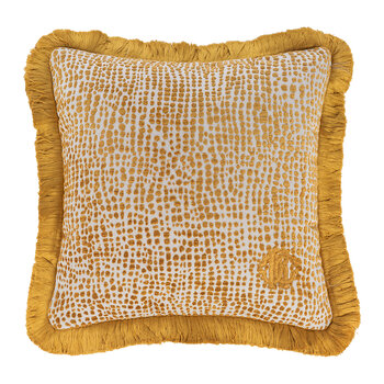 Skin Velvet Cushion - Gold
