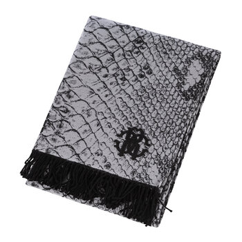 Python Throw - Black/White