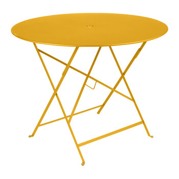 Bistro Garden Table - 96cm - Honey