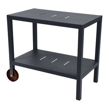 Quiberon Trolley Table - Anthracite