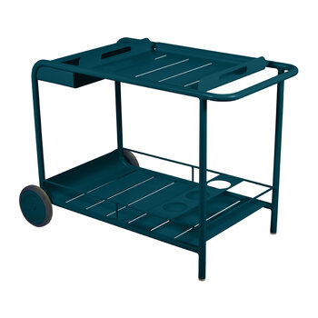 Luxembourg Drinks Trolley - Acapulco Blue